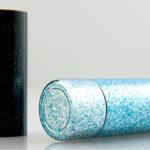 VARNISHING, glitter effect